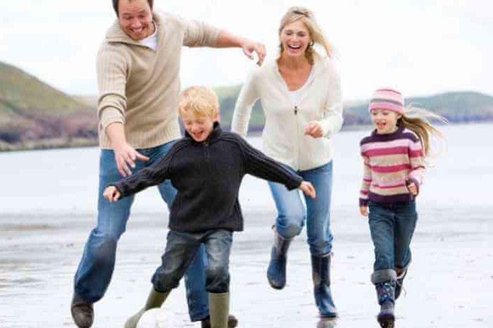 счастливая семья после психолога