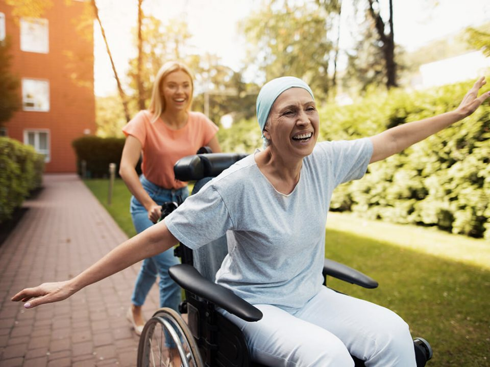 Облегчение состояния при онкологии